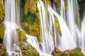 Картинка горы, скалы, растение, водопад, Кравице, Босния и Гецеговина