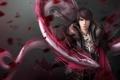 Картинка парень, spirit, dragon, petals