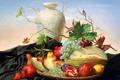 Картинка виноград, груша, фрукты, Aleksei Antonov, натюрморт, Alexei Antonov, Alexey Antonov