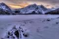 Картинка зима, пейзаж, горы