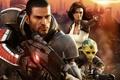 Картинка игры, Mass Effect 2, poster, Shepard, космическая сага