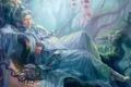 Картинка сон, мужчина, азиатский стиль