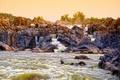 Картинка камни, скалы, водопад, Virginia, USА, Great Falls