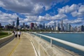 Картинка небо, облака, небоскребы, чикаго, Chicago