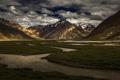Картинка пейзаж, горы, природа, долина, Индия