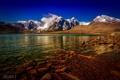 Картинка горы, природа, озеро, Китай, Тибет