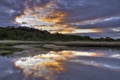 Картинка небо, пейзаж, река