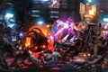 Картинка фантастика, война, битва, пришельцы, mass effect, halo, turian