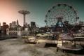Картинка пляж, город, парк, нью йорк, Grand Theft Auto IV