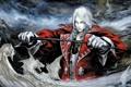 Картинка рисунок, арт, вампир, fantasy, граф, блондин, белые драконы