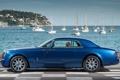 Картинка небо, вода, синий, фон, купе, яхты, Rolls-Royce