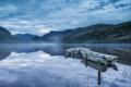 Картинка пейзаж, озеро, лодки