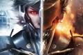 Картинка лицо, игра, шлем, парень, Metal Gear Rising, Revengeance