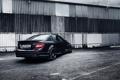 Картинка Mercedes-Benz, AMG, Black, Tuning, C63, work