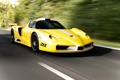 Картинка желтый, road, zxx, энзо, edo competition, Ferrari, дорога