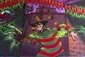 Картинка стена, граффити, Фредди Крюгер, Graffiti, Freddy Krueger