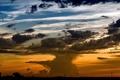 Картинка закат, пейзаж, небо