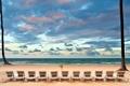 Картинка море, лето, лежаки