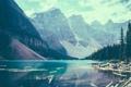 Картинка деревья, озеро, Горы