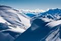 Картинка зима, снег, пейзаж, природа, обои, гора, край