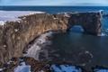 Картинка море, скалы, берег, Исландия
