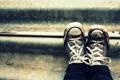 Картинка креатив, обувь, кеды, грязь, ступеньки, шнурки, shoes