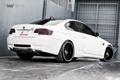 Картинка белый, бмв, BMW, white, E92, задняя часть, 360 three sixty forged