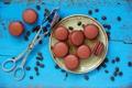 Картинка сладость, пирожное, cake, кофейные зерна, sweet, макаруны, macaroni
