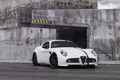 Картинка белый, фон, тюнинг, Alfa Romeo, суперкар, tuning, Wheelsandmore