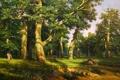 Картинка лес, картина, живопись, painting, forest big