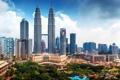 Картинка здания, панорама, небоскрёбы, Малайзия, Kuala Lumpur, Malaysia, Куала-Лумпур