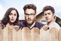 Картинка На тропе войны 2, Neighbors 2, Sorority Rising, очки, Seth Rogen, забор, комедия