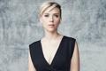Картинка фон, модель, макияж, платье, актриса, Scarlett Johansson, прическа