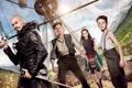 Картинка корабль, фэнтези, приключения, Hugh Jackman, Хью Джекман, Rooney Mara, Руни Мара