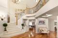 Картинка дизайн, лестница, вазон, холл
