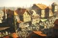 Картинка город, люди, дома, константинополь, истамбул, Assassin's Creed: Revelations, базар