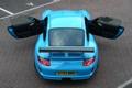Картинка голубой, купе, Porsche, суперкар, порше, GT3