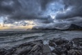 Картинка coast, cloud, wave, arctic, norway, lofoten
