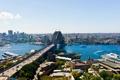 Картинка мост, река, дома, Австралия, панорама, Сидней