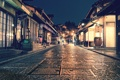 Картинка свет, люди, улица, Япония, Киото, магазины, быт
