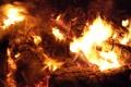 Картинка огонь, пламя, угли, костёр