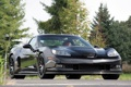 Картинка Pratt & Miller, Chevrolet, Corvette, black, front, корвет, supercar