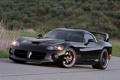 Картинка чёрный, Dodge, Viper, venom, special edition, hennessey, neiman marcus