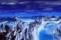 Картинка небо, горы, скалы, обои