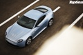 Картинка дорога, Aston Martin, Vantage, суперкар, вид сверху, top gear, V12