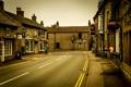 Картинка улица, дома, Castleton, Великобритания, дорога