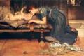 Картинка мать, радость, Lawrence, любовь, дитя, ребенок, Alma-Tadema
