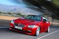 Картинка Красный, Авто, BMW, Машина, БМВ, Капот, Фары
