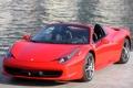 Картинка машина, Ferrari, суперкар, передок, Spider, 458 Italia