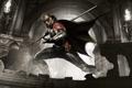 Картинка Batman: Arkham Knight, Бэтмен: Рыцарь Аркхема, Экипировка, DLC, Свет, Маска, Взгляд